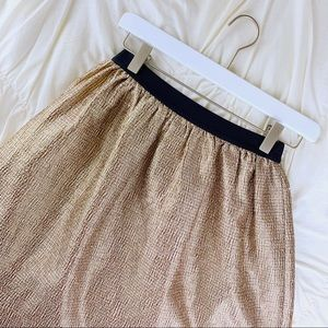 Crew Cuts ~ Gold skirt size 14